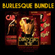 Burlesque Flyer Bundle Vol 2 - GraphicRiver Item for Sale
