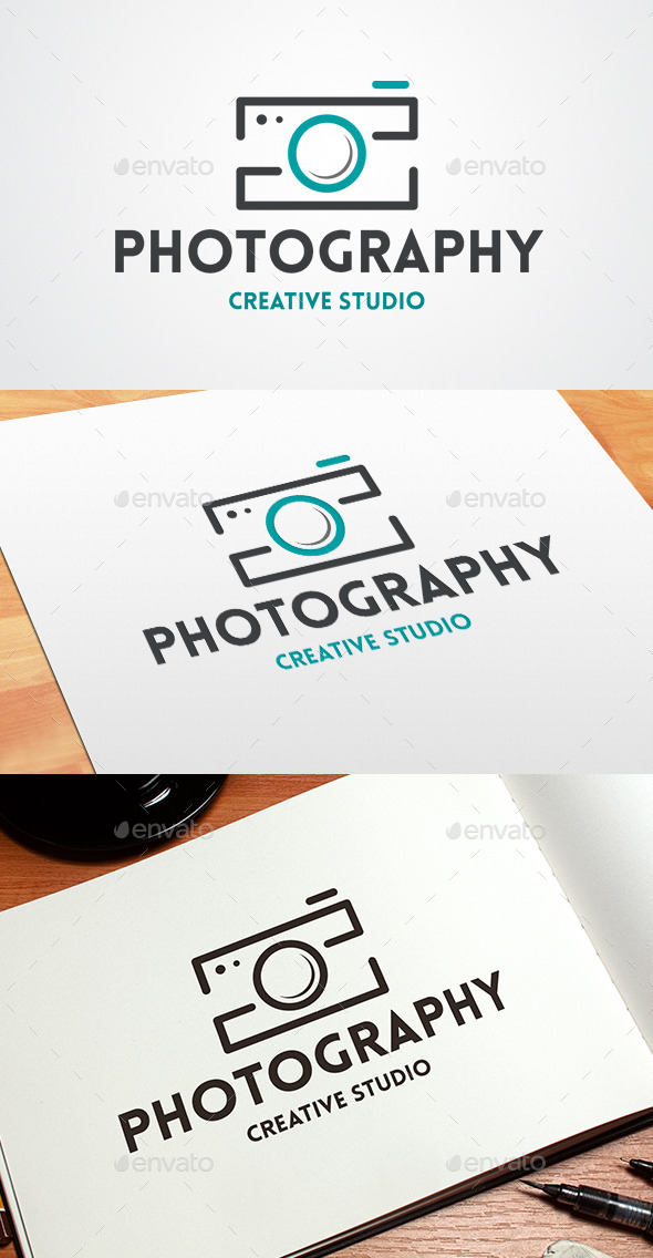 GraphicRiver Photo Logo Template 9059396