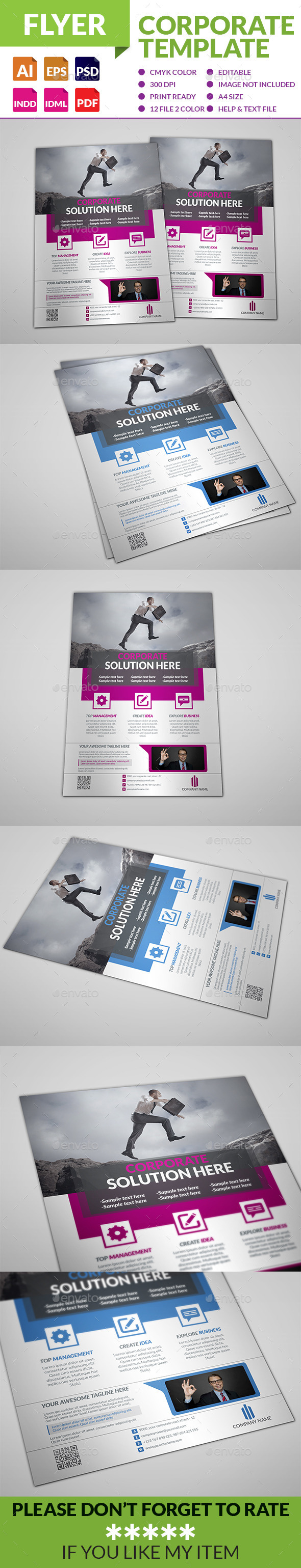 GraphicRiver Corporate Business Flyer 9059407