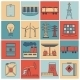Energy Icons Flat Line Set - GraphicRiver Item for Sale