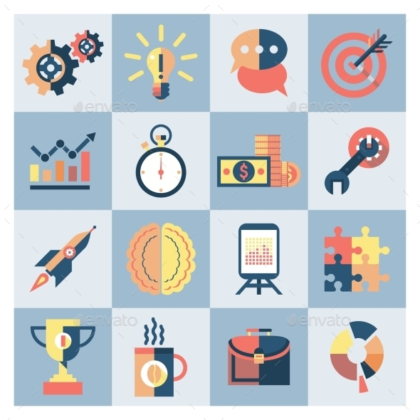 GraphicRiver Creative Icons Set 9059422