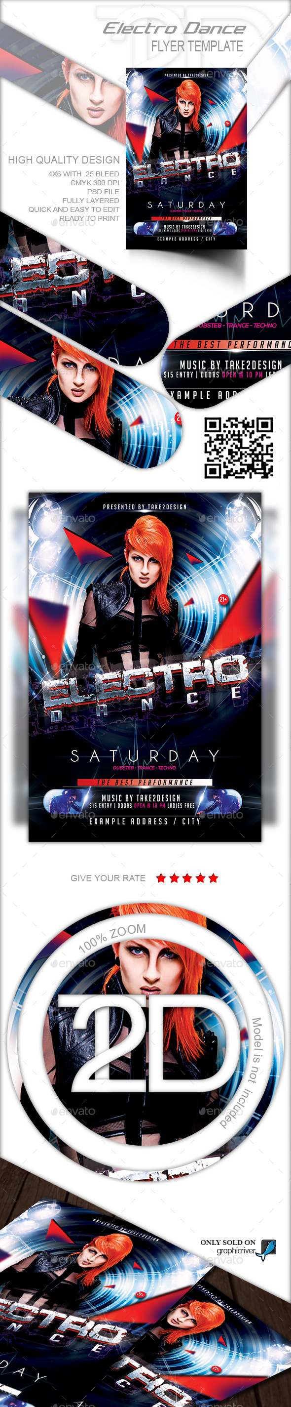 GraphicRiver Electro Dance 9059455