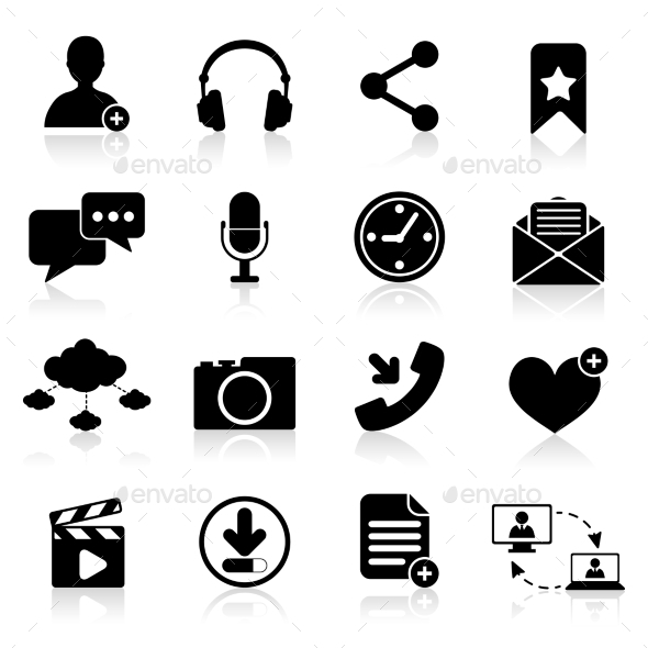GraphicRiver Social Network Icons 9059470
