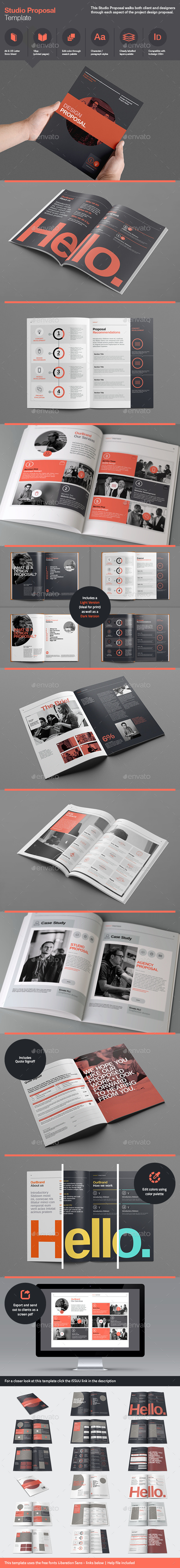 GraphicRiver Studio Proposal Template 9059564