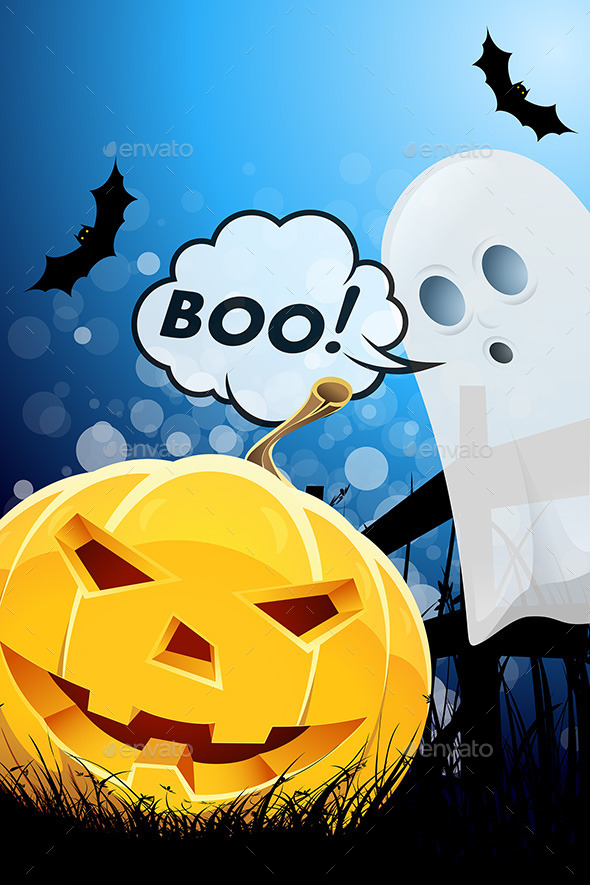 GraphicRiver Halloween Poster 9059579