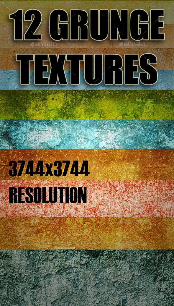 GraphicRiver Grunge Texture Pack 2 9059584