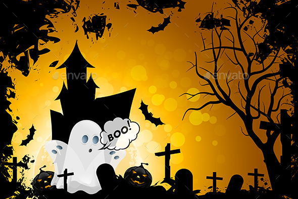 GraphicRiver Halloween Background 9059585