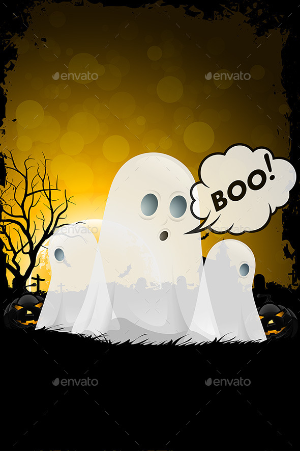 GraphicRiver Halloween Poster 9059586