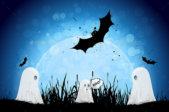 GraphicRiver Halloween Poster 9059590