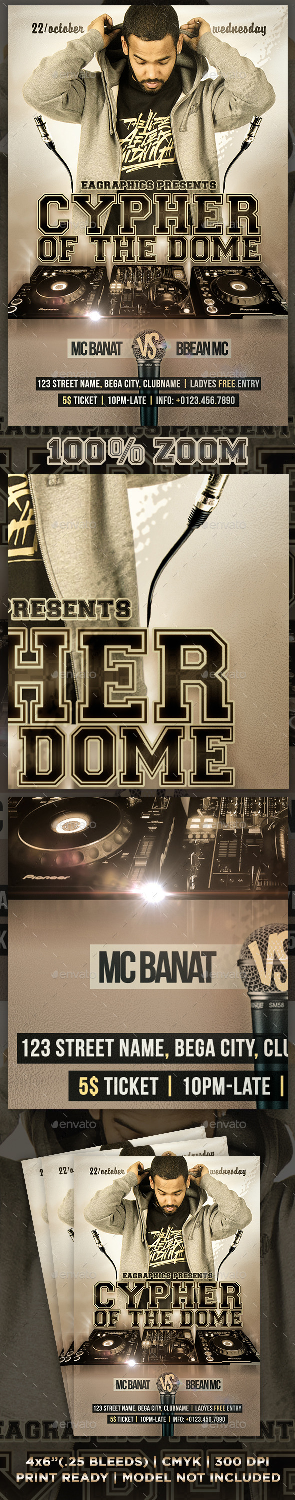 GraphicRiver Cypher Of The Dome Flyer 9059607