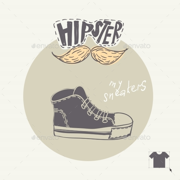 GraphicRiver Sneakers Fashion Background 9059803