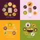 Vegetables Icons Flat Set - GraphicRiver Item for Sale