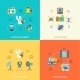 Photography Icons Flat - GraphicRiver Item for Sale
