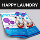 Happy Laundry Flyer - GraphicRiver Item for Sale