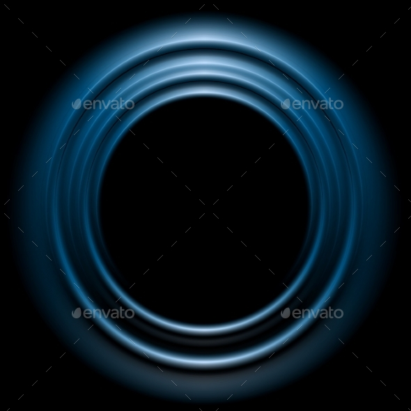 GraphicRiver Blue Shiny Circle Logo Design 9060170