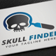 Skull Finder Logo - GraphicRiver Item for Sale