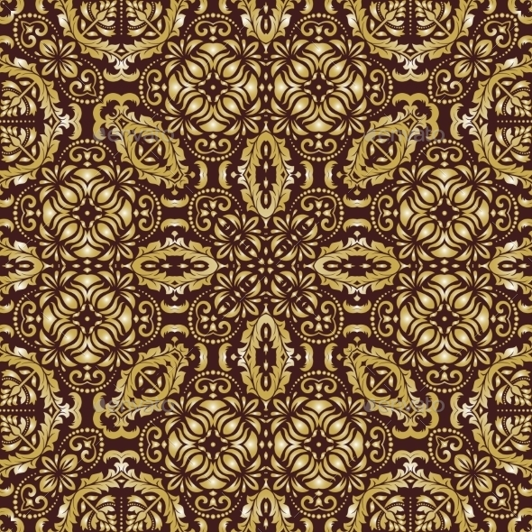GraphicRiver Damask Seamless Vector Pattern 9060655