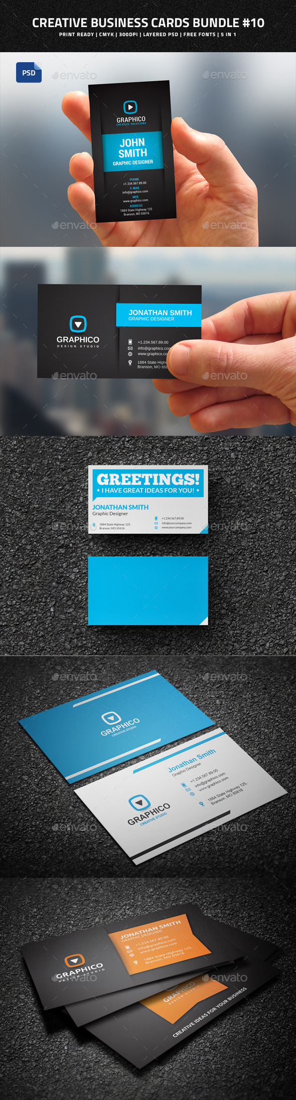 Creative Business Cards Bundle #10