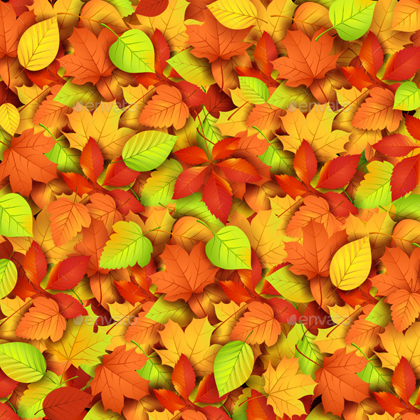 GraphicRiver Autumn Leaves 9060835