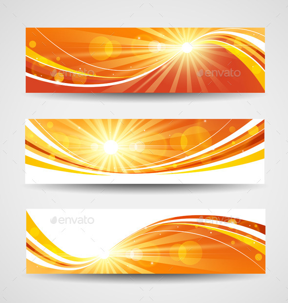 GraphicRiver Autumn Banners Set 9060842