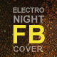 Electro Night Facebook Cover - GraphicRiver Item for Sale