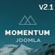 Momentum - Simple Creative OnePage Joomla Template - ThemeForest Item for Sale