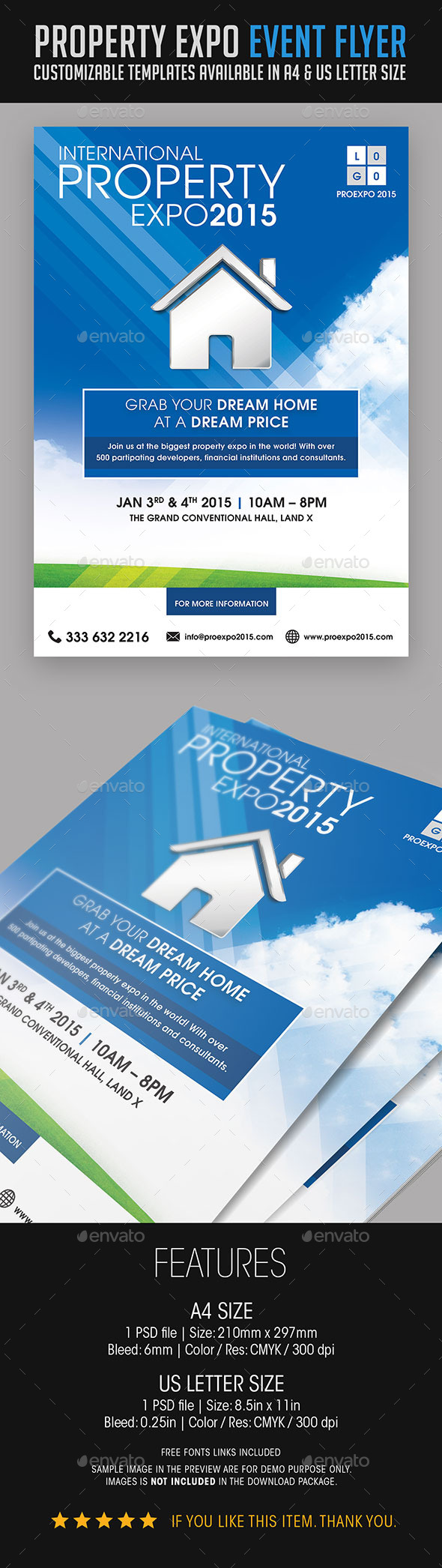 GraphicRiver Property Expo Event Flyer 9061128