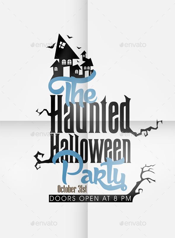 GraphicRiver Vector Halloween Design 9061848