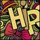 3 Hipster Doodles Designs - GraphicRiver Item for Sale