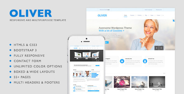 Oliver HTML5 Multipurpose Template