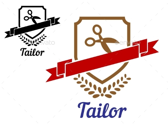 GraphicRiver Tailor or Sewing Emblem 9062393
