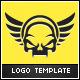 Dark Skull Logo Template - GraphicRiver Item for Sale