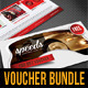 Gift Voucher Templates Bundle 04 - GraphicRiver Item for Sale
