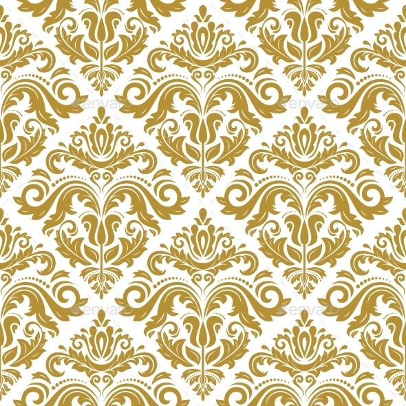 GraphicRiver Damask Seamless Vector Pattern 9065167