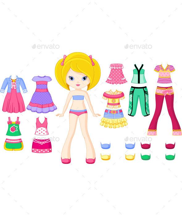 GraphicRiver Paper Doll 9065261