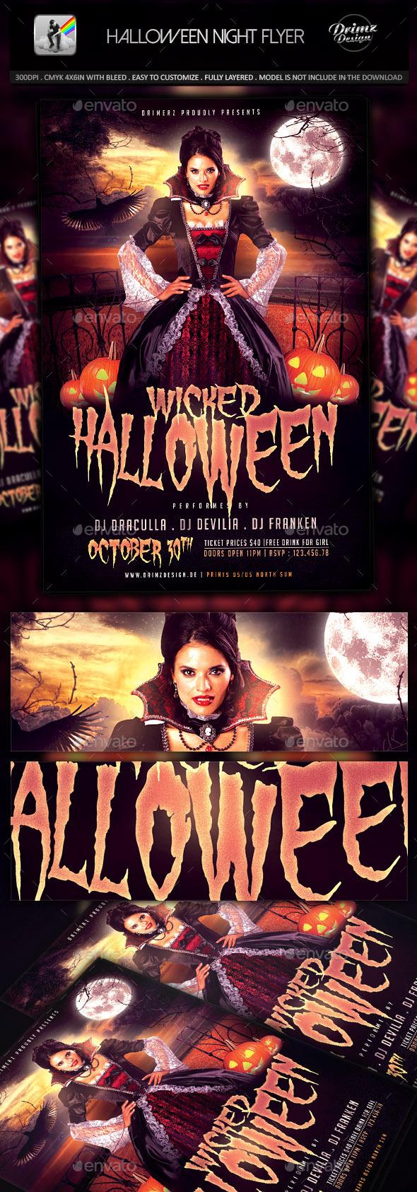 The Halloween Flyer