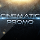 Cinematic Promo Trailer - VideoHive Item for Sale