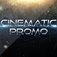 Cinematic Promo Trailer - VideoHive Item for Sale