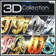 Super 3D Collection Text Effects GO.2 - GraphicRiver Item for Sale