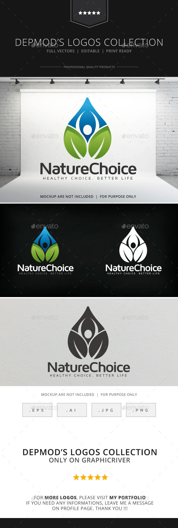 GraphicRiver Nature Choice Logo 9065782