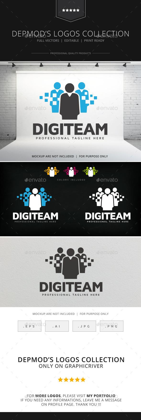 GraphicRiver Digiteam Logo 9066252
