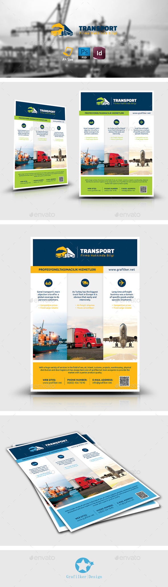 Transport Flyer Templates