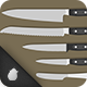 24 Different Types of Knives - GraphicRiver Item for Sale