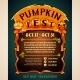 Pumpkin Fest Poster - GraphicRiver Item for Sale