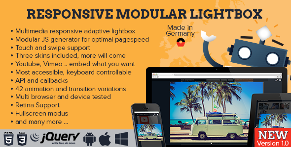 Responsive Modular Lightbox
