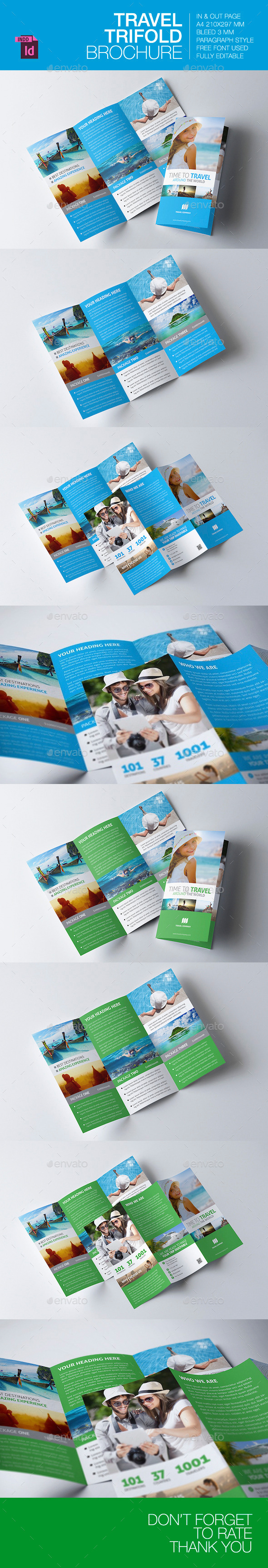 GraphicRiver Travel Trifold Brochure V.3 9066958