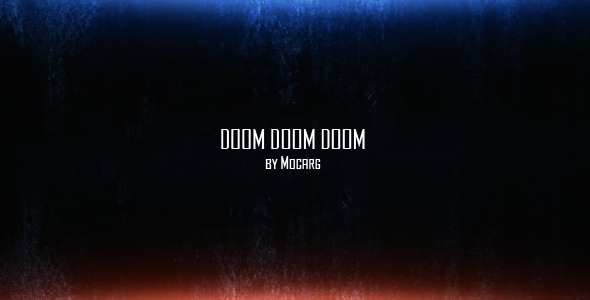 After Effects Project - VideoHive Doom Doom Doom 117292