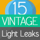 Vintage Light Leaks 15 Pack - VideoHive Item for Sale