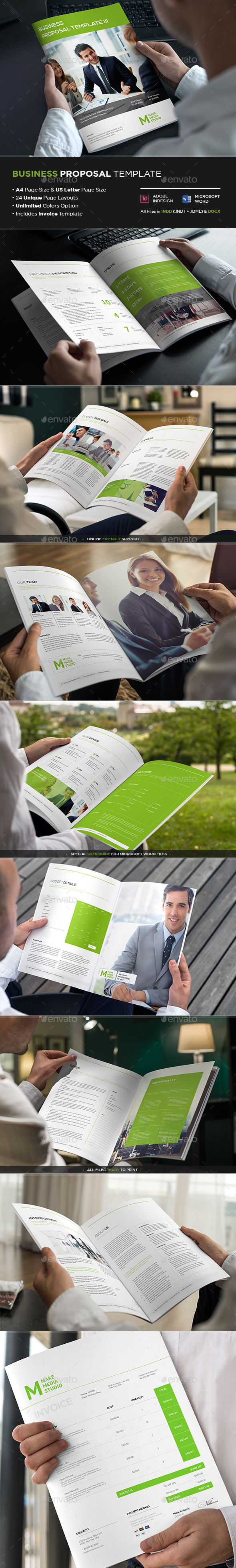 GraphicRiver Business Proposal Template III 9013792