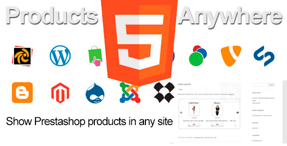 CodeCanyon Prestashop Products Anywhere 9067609